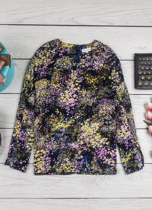 Шелковая блуза от warehouse рр 12 наш 46