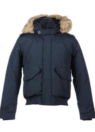 Темно-синяя куртка datch с капюшоном