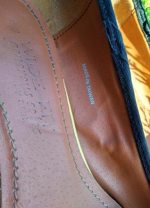 Туфли из натуральной кожы зебры5 фото