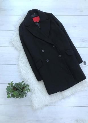 Новое двубортное пальто букле от mango