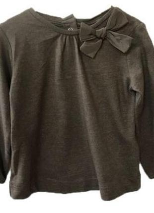 Новая темно-серая блуза для девочки, zara, 7099550