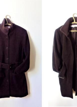 Пальто зимнее 70% шерсть