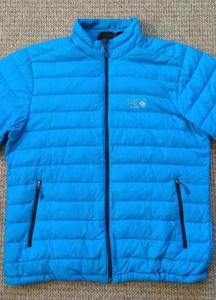 Mountain hardwear пуховик куртка оригинал (xl) сост.идеал