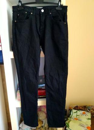 Чорні джинси pull&bear