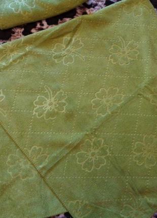 Лицевые  полотенца 100*50 микрофибра+велюр много расцветок