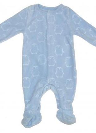 Новый флисовый голубой человечек, f&f, 0343796