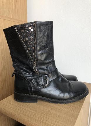 Осінньо зимові чобітки