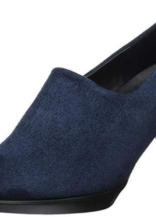 Замшевые туфли ecco экко. размер 40-41. оригинал