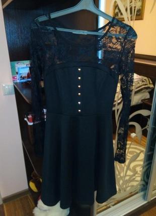 Плаття чорне, сукня