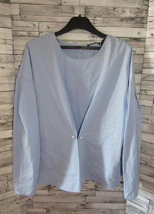 Стильная натуральная блуза marks & spencer limted collection