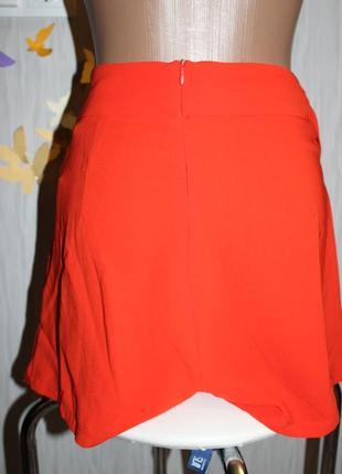 Шикарные морковные шорты на запах на высокой посадке missguided4 фото