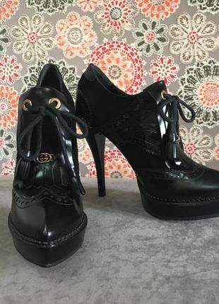 Ботинки ботильоны gucci