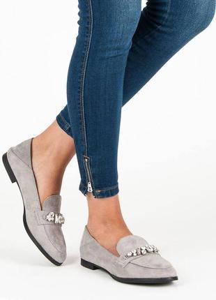 Лофери туфли на устойчивом каблуке в наличии балетки лоферы туфли мокасины
