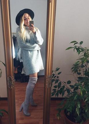 Тёплый стильный свитер next