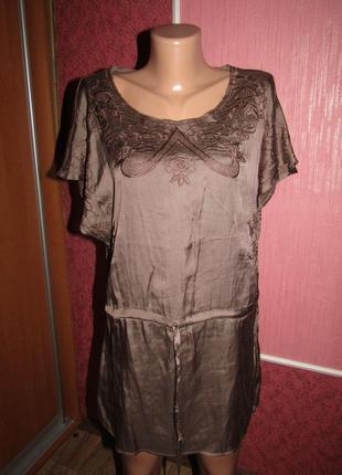 Блуза туника р-р м бренд vila