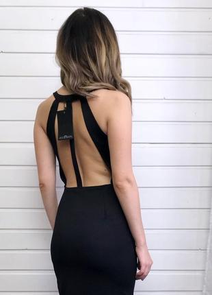 Новое! платье-миди с открытой спинкой missguided