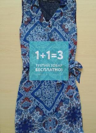♤ акция 1 + 1 = 3 ♤ летнее шифоновое платье zara, xs/s