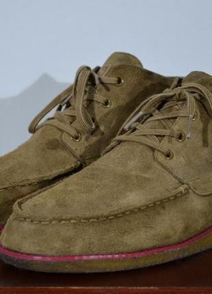 Ботинки замшевые adidas & ransom1 фото