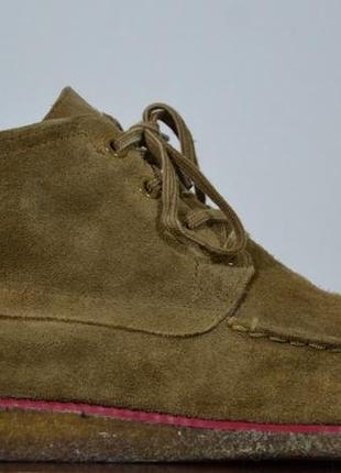 Ботинки замшевые adidas & ransom3 фото