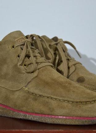 Ботинки замшевые adidas & ransom2 фото