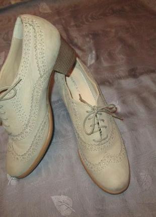 Оксфорды roberto santi кожаные туфли ботильоны