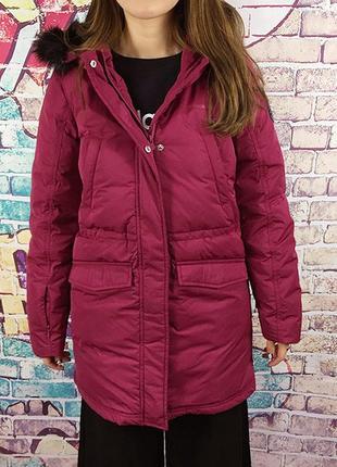 Jacke von Adidas Neo Größe XS 34 Schwarz mit Pink