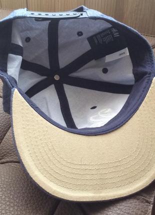 Хлопковая кепка new york  h&m на 8-14 лет5