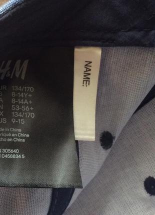 Хлопковая кепка new york  h&m на 8-14 лет4