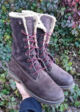 Ботинки кожаные timberland оригинал размер 38