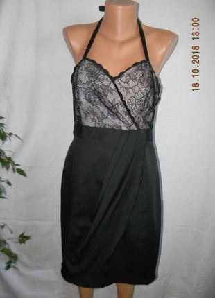Новое кружевное платье next