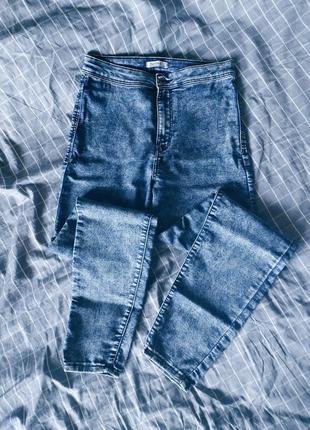 Модные джинсы варенки скинни bershka