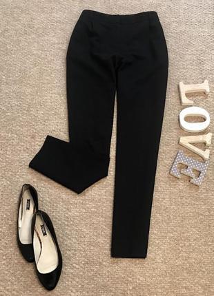 Чёрные классические плотные штаны next в составе вискоза