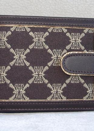 Женское портмоне wanlima из текстиля и кожи 8950101