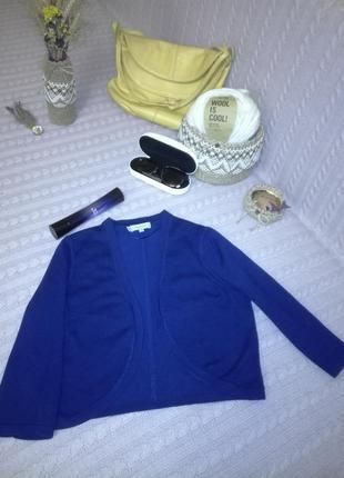 Болеро hobbs london насышенного сине-фиолетового цвета, р.m