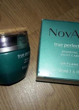 Ночной крем для лица oriflame novage true perfection