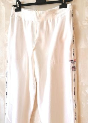 Утепленные спортивные штаны fila р.м+