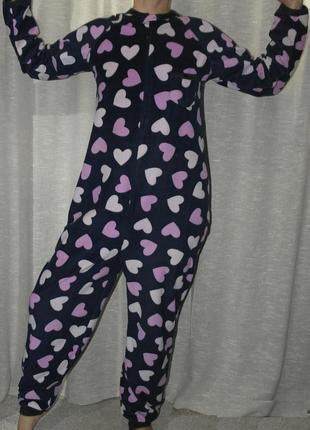 Love to lounge слип сердечки пижама человечек комбинезон
