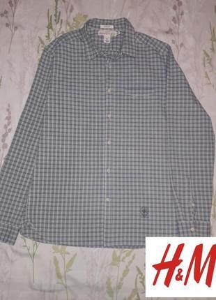 Классная мужская рубашка h&m logg
