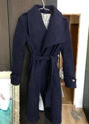 Пальто тёплое андре тан