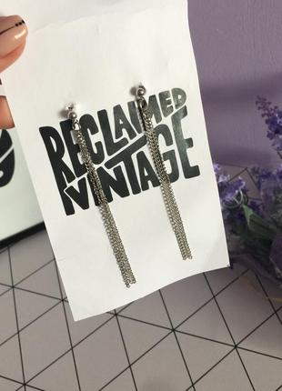 💍стильні сережки reclaimed vintage
