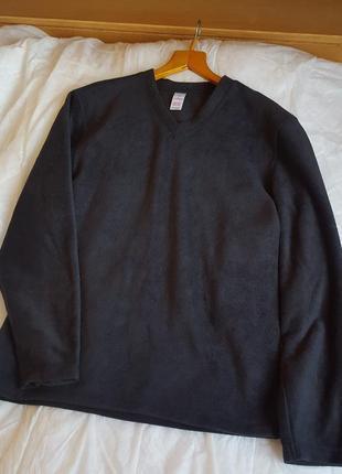 Флисовая черная кофта chest англия