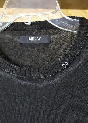 Дизайнерская кофта replay original италия