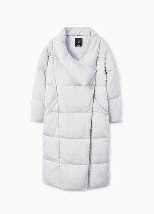 Куртка, пальто одеяло mango р. м, оригинал,длинная оверсайз