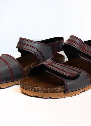 Кожаные босоножки сандалии inblu. стелька 17,5 см
