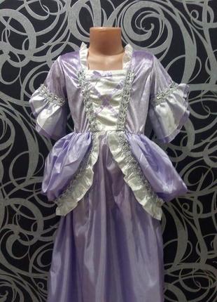 Новогоднее платье принцессы,королевы,8-10л