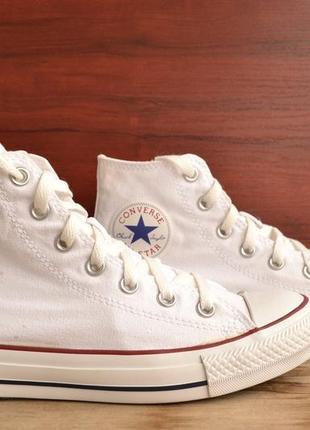 Кеды converse all star white high original