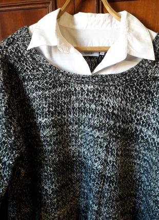 Свитер-рубашка для пышной красотки от yessica.