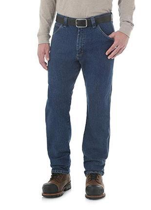 Мужские джинсы  wrangler men's five pocket jean. размер w32l32. оригинал