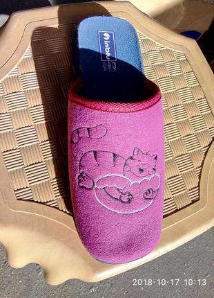 Тапки детские, тапочки, домашняя обувь. inblu. 21,5 см.