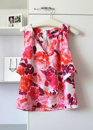 Красивая блузочка в цветы от jane norman